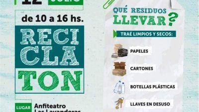Este viernes se realizará el Reciclatón 2019