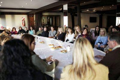 """Pulti: """"Crearemos el Programa Mar del Plata Mujer"""""""