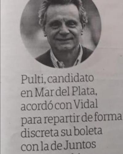 Pulti abrió una pizzería con Pichetto: cuando el tamaño no importa