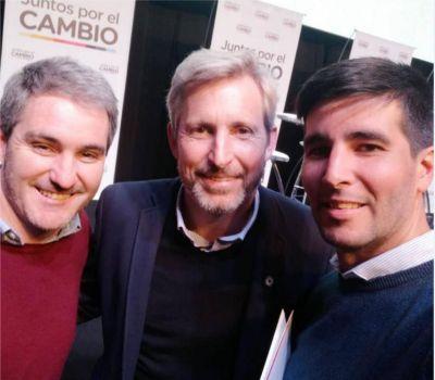 Diez representó a Necochea en el lanzamiento de campaña de Juntos por el Cambio