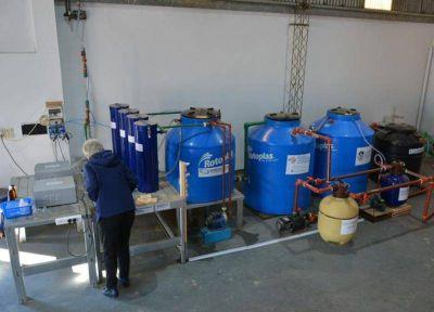 Inauguraron una planta desarrollada por la UNLP para producir agua libre de arsénico