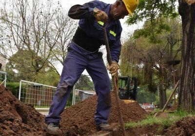 Avanzan obras de cloacas en Avellaneda que beneficiarán a 10 mil personas