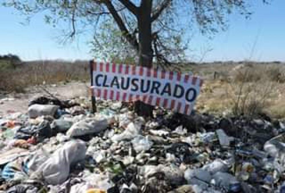 San Luis: fuertes multas a municipios por mal manejo de la basura