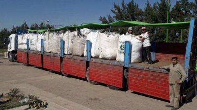 Reciclaron 10 mil kilos de boletas electorales en Tafí Viejo