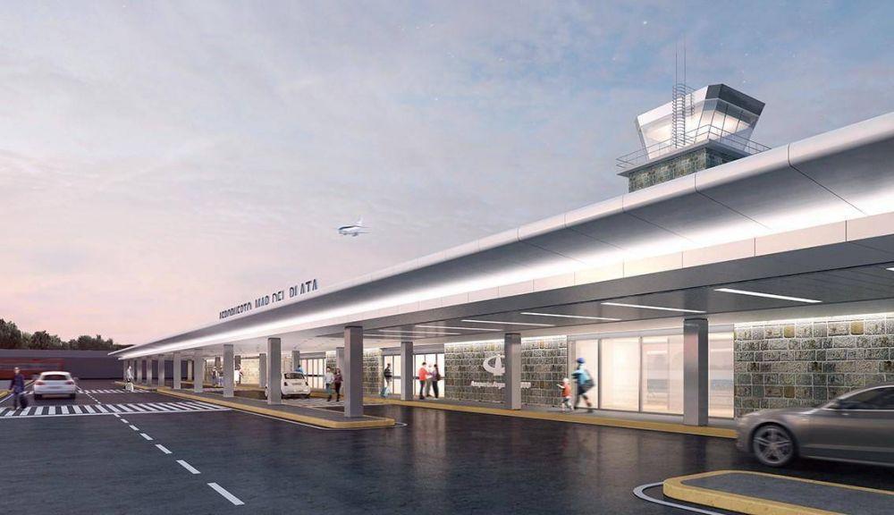 Dietrich recorrerá las obras de remodelación en el Aeropuerto de Mar del Plata