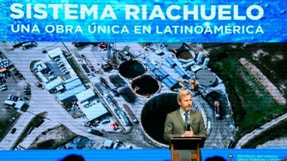Rogelio Frigerio presentó un documental sobre el