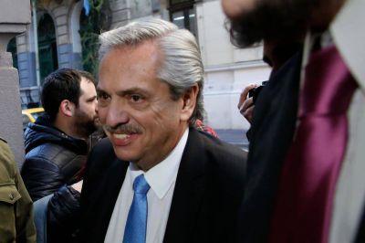 La cúpula de la CGT recibe a Alberto Fernández