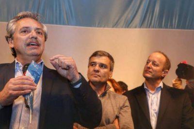 Todos: Alberto Fernández desembarcó en el Conurbano bonaerense con un guiño a los intendentes