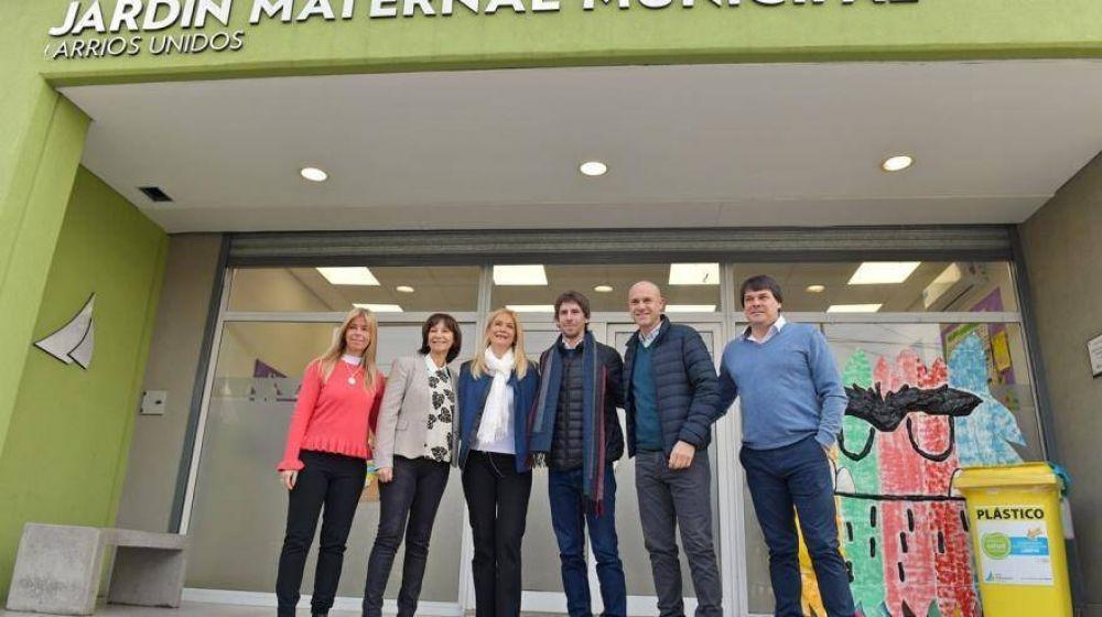 Andreotti recibió a Verónica Magario en San Fernando