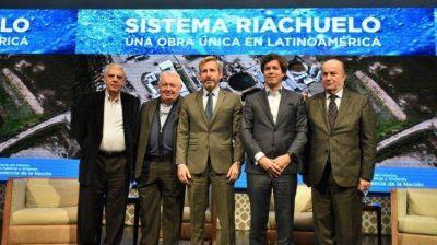 Gobierno y AySA presentaron avances de la megaobra Sistema Riachuelo
