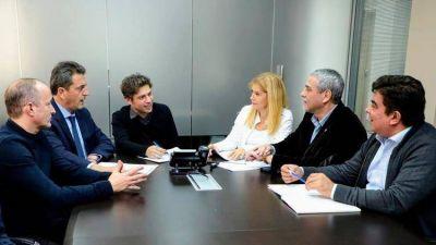 Kicillof, Magario y Massa: la