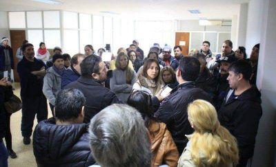 Fileteros ocupan el Ministerio de Trabajo en reclamo del pago de subsidios