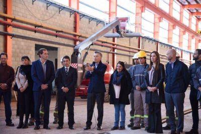 Con inauguración previa, Macri acompaña a Vidal en su lanzamiento formal para la campaña