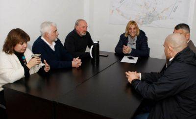 """Baragiola: """"Obras Sanitarias es un orgullo para la ciudad y la defenderemos como tal"""""""
