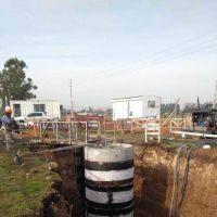 Intendente Reino avanza con la construcción de la primera estación de bombeo cloacal
