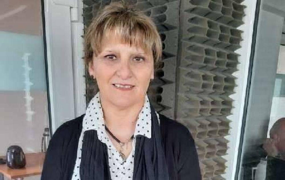 """Norma Alí: """"Con el país en crisis, acá las obras siguieron"""