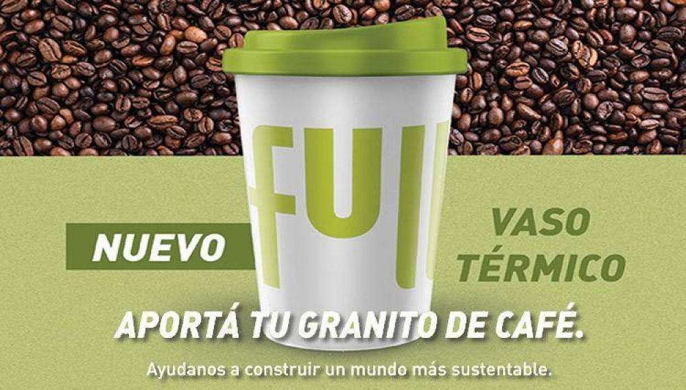 Nueva promo sustentable: YPF entrega vasos térmicos reutilizables, ideales para el invierno