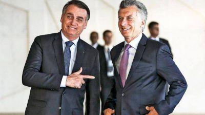 Macri se mostrará con Bolsonaro y usará el pacto comercial en la campaña