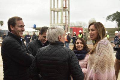 Vidal dijo que mientras al gobierno anterior lo recuerdan por la obra del Estadio Único a ella por