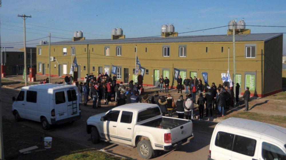 Pese a los contratiempos, el barrio sindical sigue creciendo a paso firme
