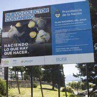 Adjudicaron nuevamente las obras del colector costanero Bariloche