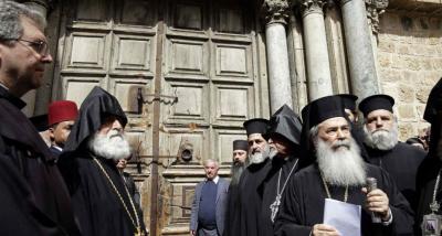 Jerusalén: Protesta de las Iglesias contra la Corte por la expropiación de bienes cristianos