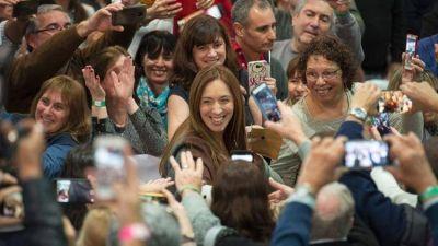 Para lograr su reelección, María Eugenia Vidal necesita sacar más votos de los que obtuvo Cambiemos en 2015 y 2017