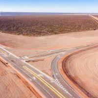 Macri inauguró la nueva ruta 40, clave para el Vaca Muerta mendocino