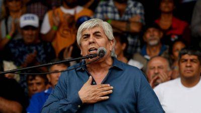 """Hugo Moyano: """"Macri se ha comprometido en sacarle todos los derechos a los trabajadores"""""""