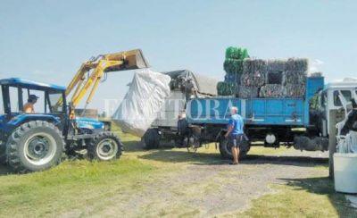 Financian la gestión de residuos en Pueblo Andino