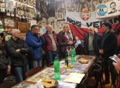 Vilma Baragiola sumó el apoyo del Espacio Alfonsinista