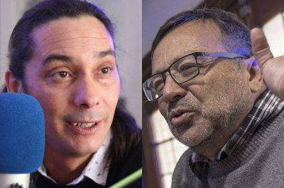 Mario Gygli se cruzó con el Yanqui Lopez por el pago de los sueldos