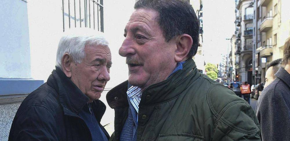 Después de tres años, Viviani volvió a la CGT para reunirse con Alberto Fernández
