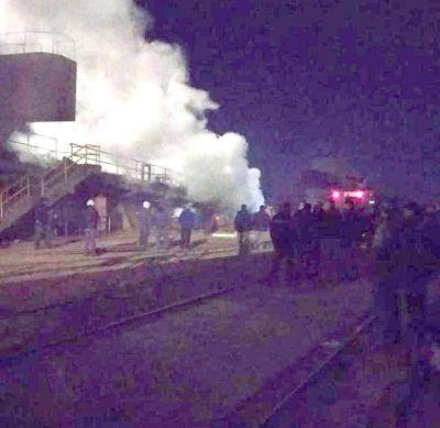 En el Astillero Río Santiago hubo una explosión y un trabajador resultó gravemente herido