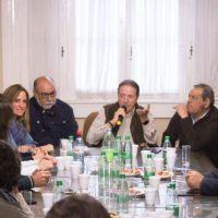 Tolosa Paz debatió propuestas de generación de empleo con dirigentes locales