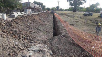 Concluye la ejecución del primer sistema de desagües cloacales en San Javier