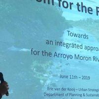 Con ayuda de Holanda, arman un plan para limpiar el Arroyo Morón