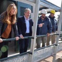 Damos respuestas concretas a problemas de años, dijo Vidal al recorrer obras contra las inundaciones