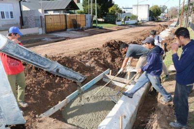 Irma Monjo repasó las obras en marcha en San José