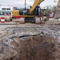 Por obras, la avenida Paraguay sentido sur-norte estará cerrada hasta las 21