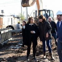Rosario: Fein recorrió las obras en barrio Las Flores Sur