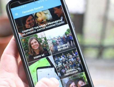Raverta lanzó su aplicación
