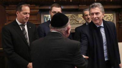 Mauricio Macri no asistirá al acto central de la AMIA y presentará un libro en Casa Rosada junto al Congreso Judío Latinoamericano