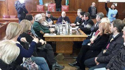 El Concejo Deliberante define aprobar la declaración contra los tarifazos