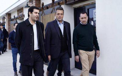 """Massa: """"Macri dice que estamos a mitad del río, pero hay argentinos que se están ahogando"""""""