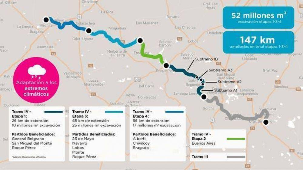 Obras: así es la octava draga que ayudará a recuperar 1,3 millones de hectáreas en Buenos Aires