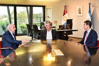 Ahora como candidato, Lavagna se reencontró con Schiaretti