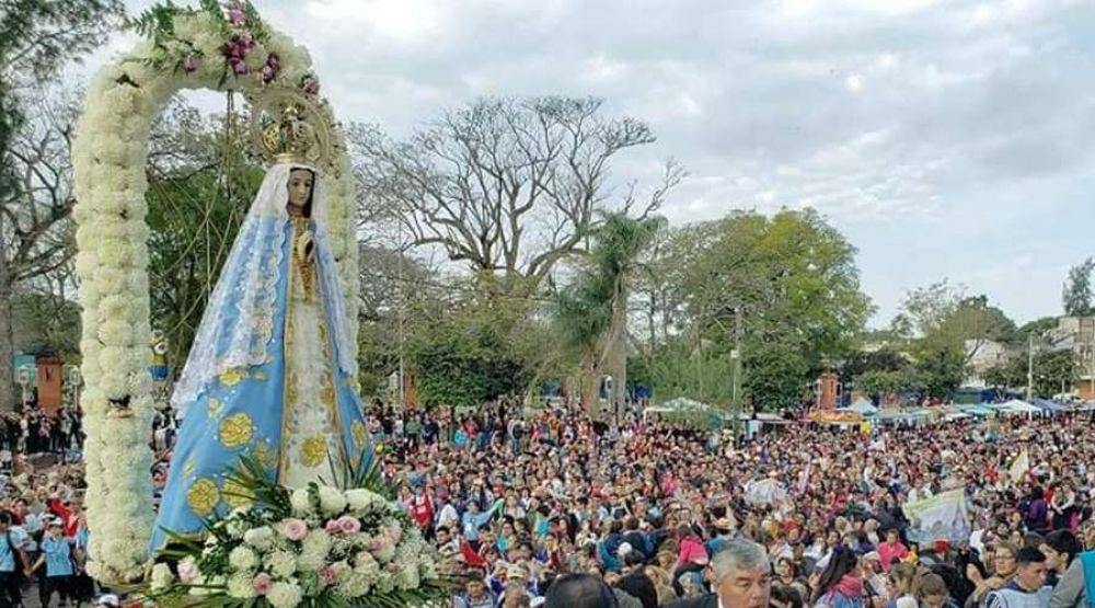 Celebran 119 años de la coronación de Nuestra Señora de Itatí