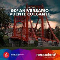 El Entur convoca a la comunidad a los festejos por el aniversario del Puente Colgante