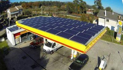 Para ahorrar electricidad, proyectan proveer de energía solar a las Estaciones de Servicio